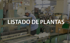 Listado de plantas